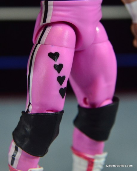 WWE Elite 43 Hart Foundation figures -Hitman four hearts