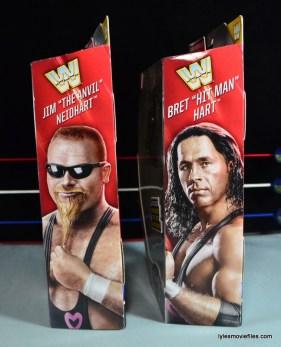 WWE Elite 43 Hart Foundation figures -package side