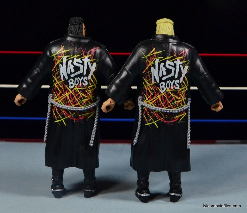 WWE Nasty Boys Elite 42 -jacket rear