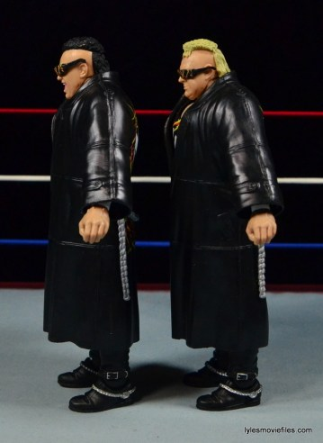 WWE Nasty Boys Elite 42 -jackets left side