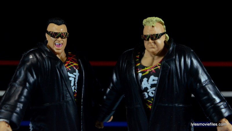 WWE Nasty Boys Elite 42 -jackets on closeup