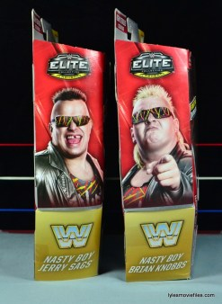 WWE Nasty Boys Elite 42 -side package