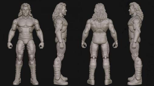 WWE SDCC 2016 reveals - Brutus Beefcake Elite 49 full