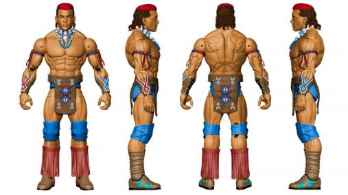 WWE SDCC 2016 reveals - Tatanka Elite 47 full