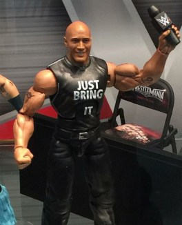 WWE SDCC The Rock