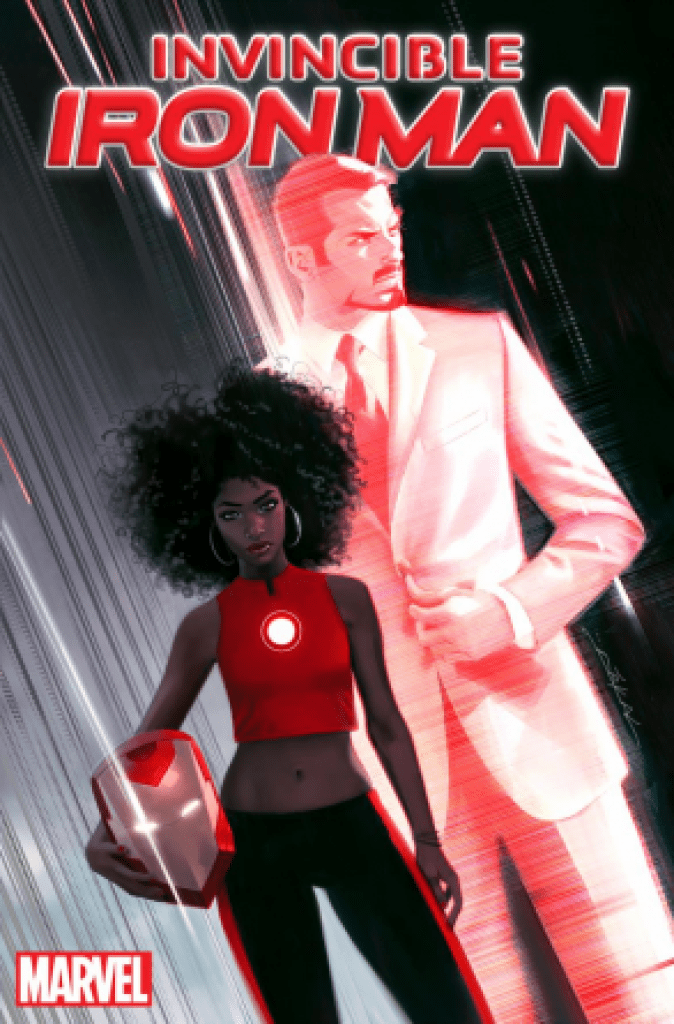 riri williams invicible iron man