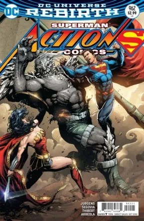 Action Comics #962 review the variant cover