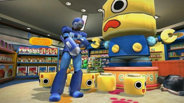 Dead Rising Frank West as Mega Man