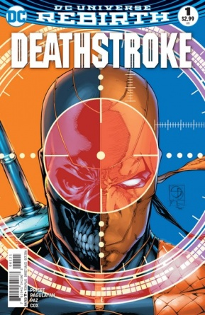 Deathstroke #1 review - variant cover