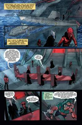 Green Arrow #5 review Inferno- page 5