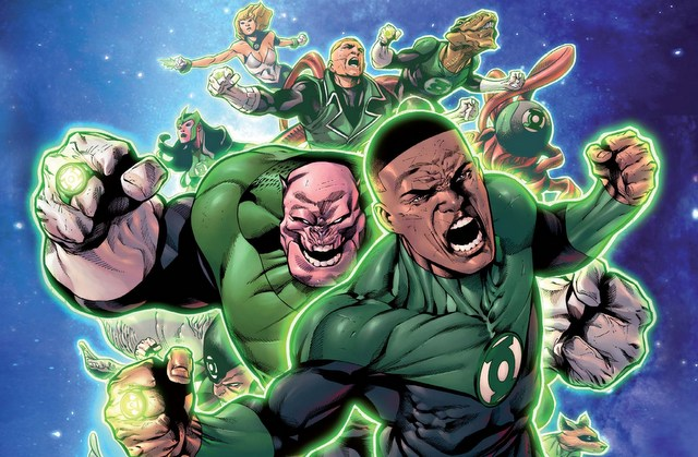 Hal Jordan and the Green Lantern Corps issue 2 page cover