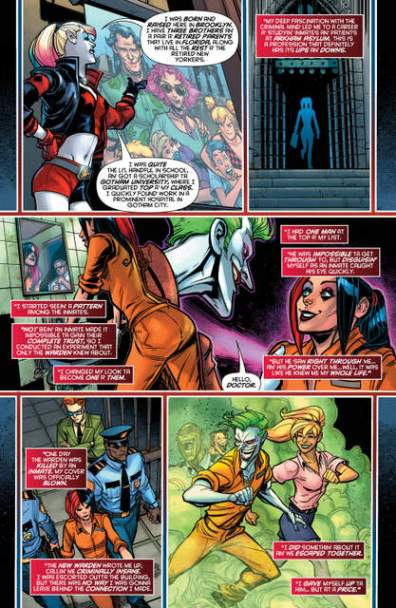 Harley Quinn issue 1 Afterbirth page_4