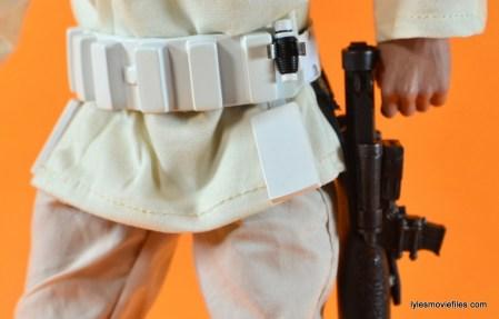 Hot Toys Luke Skywalker figure review - Stormtrooper belt front