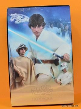 Hot Toys Luke Skywalker figure review -inner cover