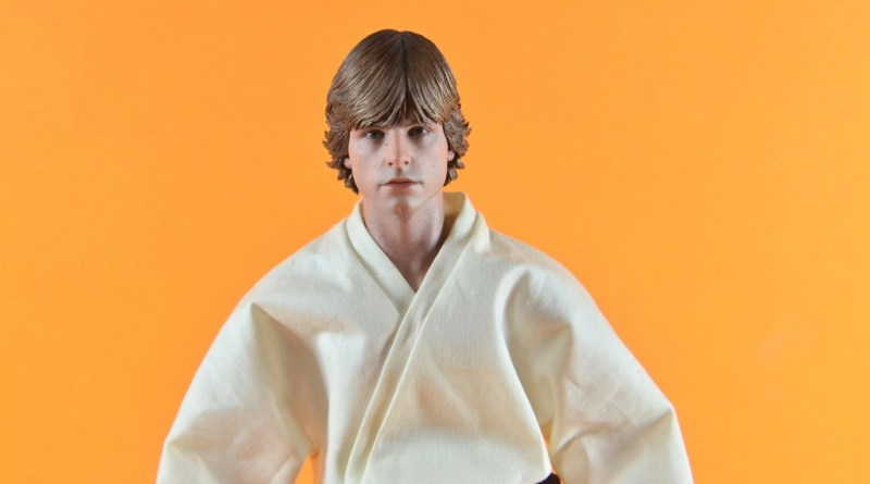 Hot Toys Luke Skywalker figure review - main pic