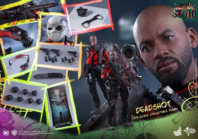 Hot-Toys-Suicide-Squad-Deadshot-figure-collage-special-edition