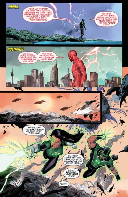 Justice League #3 review -page 5