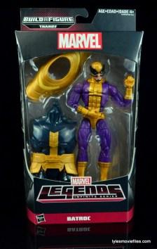 Marvel Legends Batroc figure review - front package