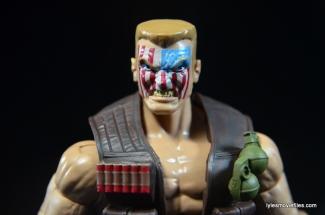 Marvel Legends Nuke review - face close up