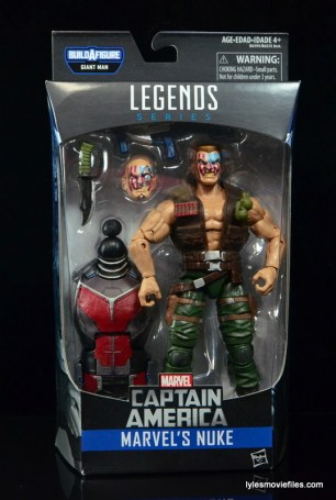 Marvel Legends Nuke review - front package