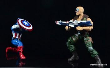 Marvel Legends Nuke review - vs Captain America