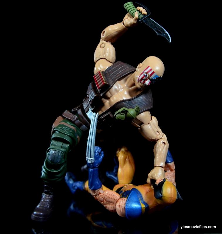 Marvel Legends Nuke review - vs Wolverine