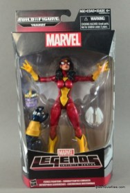 Marvel Legends Spider-Woman figure review - front package