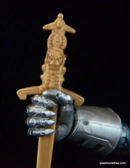 Marvel Legends Stryfe figure review -sword detail