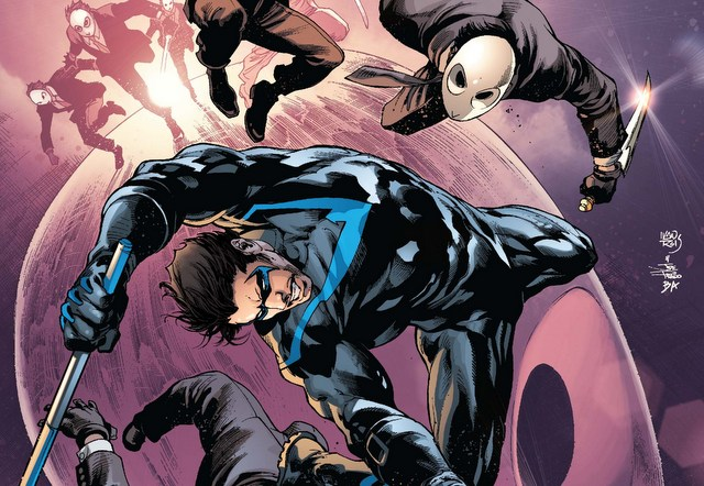 Nightwing isue 2 Better than Batman variant cover