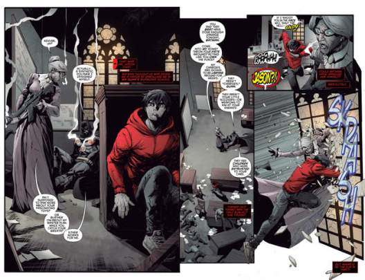 Red Hood and the Outlaws issue 1 review pages_2-3