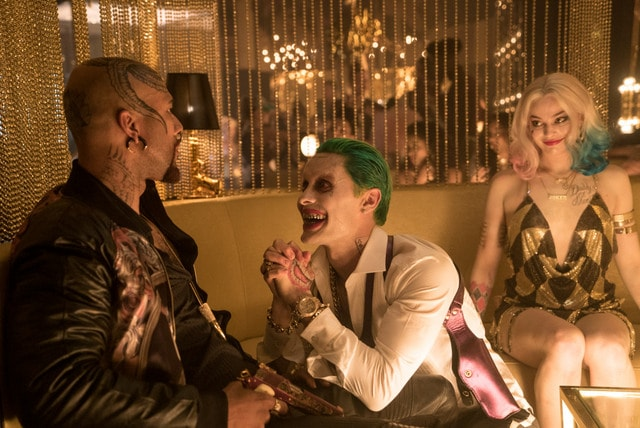 Suicide Squad movie - Common, The Joker and Harley Quinn-min