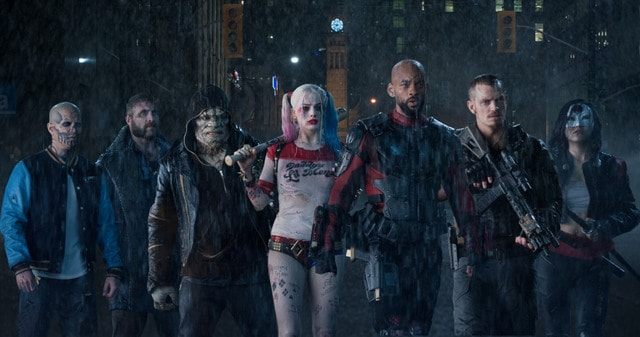 Suicide Squad movie -Diablo, Boomerang, Croc, Harley, Deadshot, Flag and Katana-min