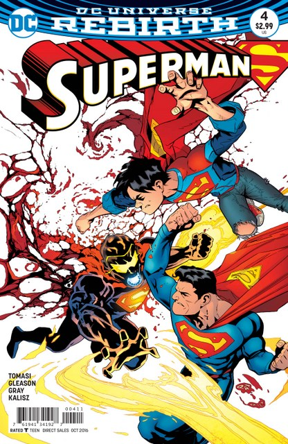 Superman issue 4 Son of Superman cover