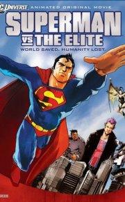Superman vs The Elite movie poster