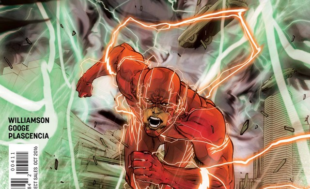 The Flash #4 review cover