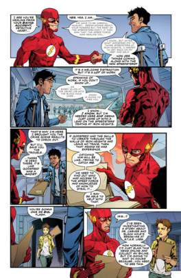 The Flash #4 review pages 4