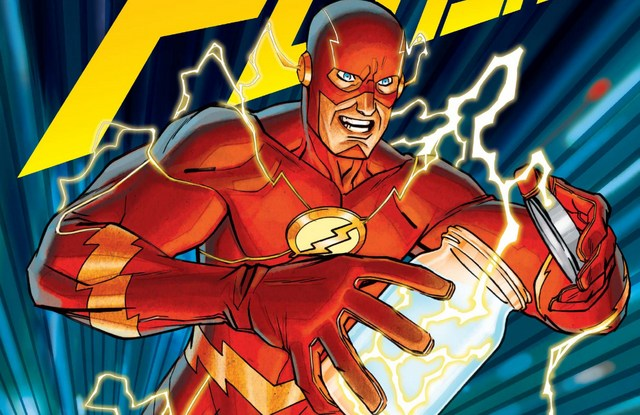 The Flash #5 review variant cover