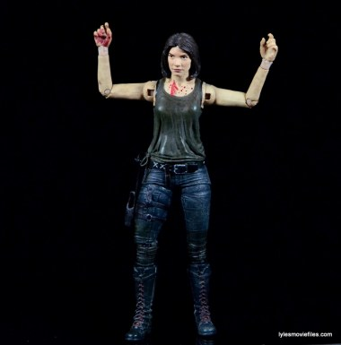 The Walking Dead Maggie Green figure McFarlane Toys -arms up