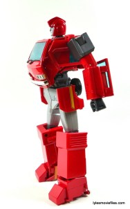 Transformers Masterpiece Ironhide figure review -left side kibble