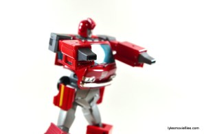 Transformers Masterpiece Ironhide figure review - wide nossil