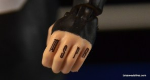 WWE Elite 43 Kevin Owens figure review - MSPB knuckle tattoo