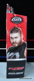 WWE Elite 43 Kevin Owens figure review - package side