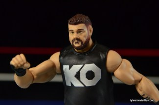 WWE Elite 43 Kevin Owens figure review - ready for battle