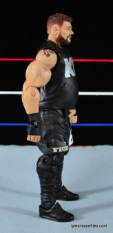 WWE Elite 43 Kevin Owens figure review - right side