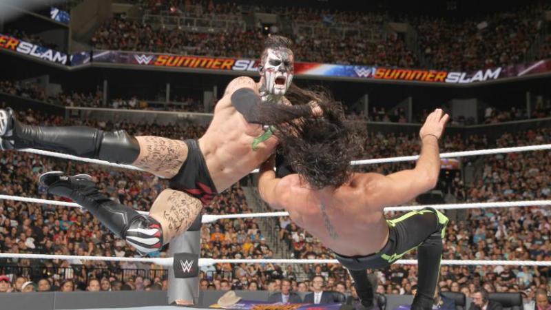 WWE SummerSlam 2016 - Finn Balor vs Seth Rollins