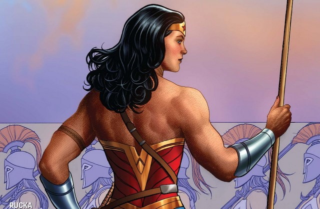 Wonder Woman #5 variant Frank Cho cover