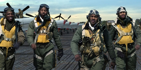 red-tails-soldiers - michael b jordan, nate parker