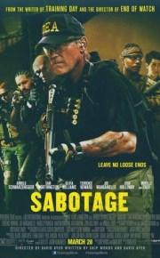sabotage movie poster