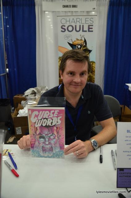 Baltimore Comic Con 2016 - Charles Soule