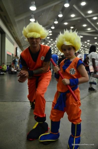 Baltimore Comic Con 2016 - Dragonball Z Goku and dad